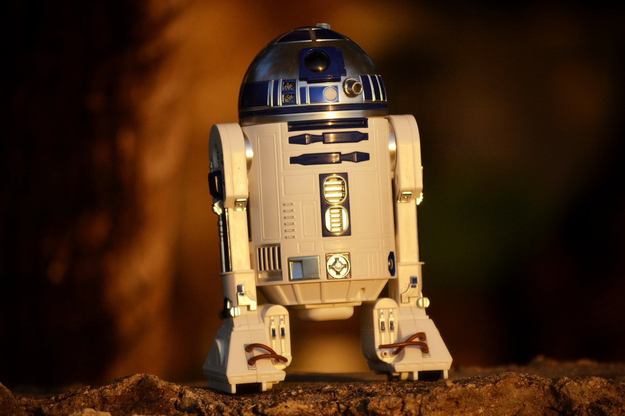 R2D2 Example for intelligent robot-revolution 4.0-blog by smyle